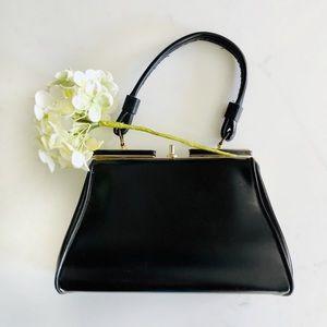 Vintage AINA Small Square Purse, Vegan Leather